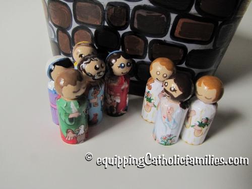 Little Printable Peg Dolls: Easter Set