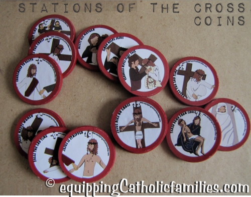 Stations of the Cross coins 2