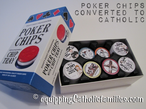 Poker Chips (Converted to Catholic!)