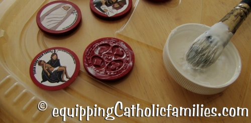 painting poker chips