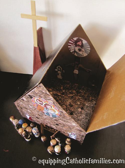 recycled box church