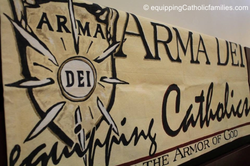 Arma Dei Shoppe is opening at Equipping Catholic Families