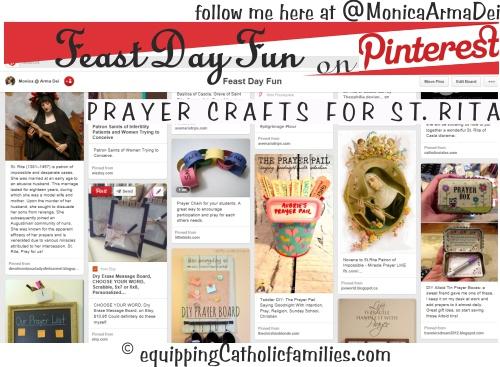 St Rita Prayer Crafts