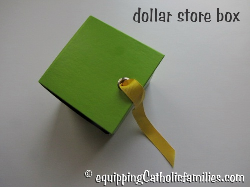 dollar store magic box