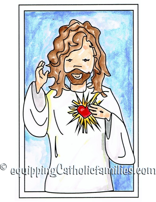 Feast Day Fun: Sacred Heart of Jesus