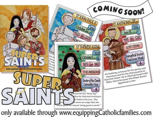 Super Saints Cards NEW RELEASE