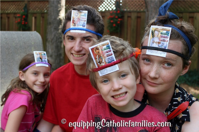 HeadBandz converted to Catholic Super Saints 2