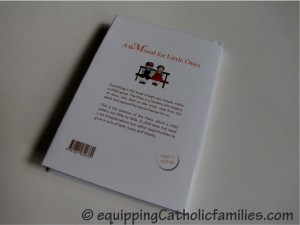 Missal for Little Ones back cover