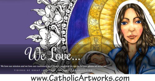 Catholic Artworks Mary