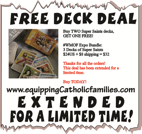 FREE deck deal Super Saints on blog