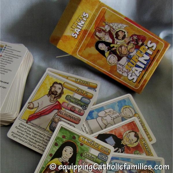 Super Saints cards