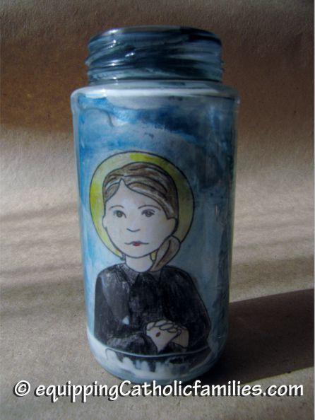 St Gemma Votive candle