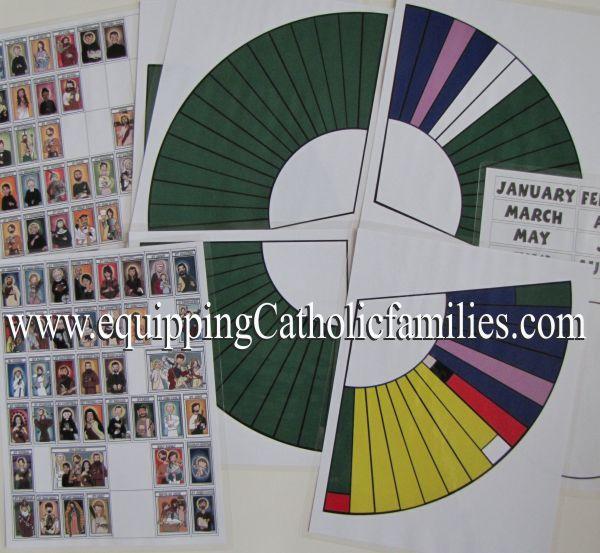 pieces liturgical calendar