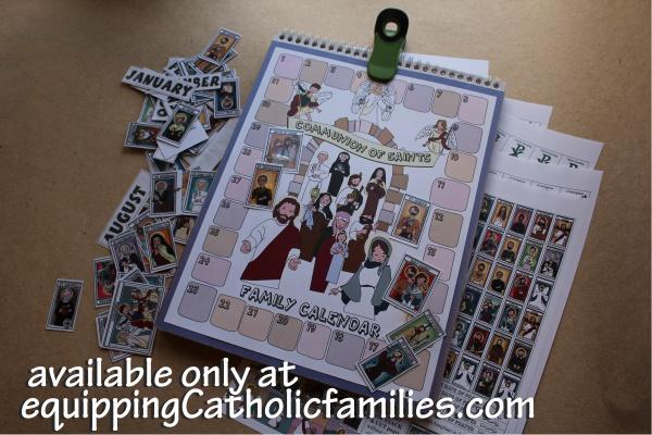 Communion of Saints Calendar