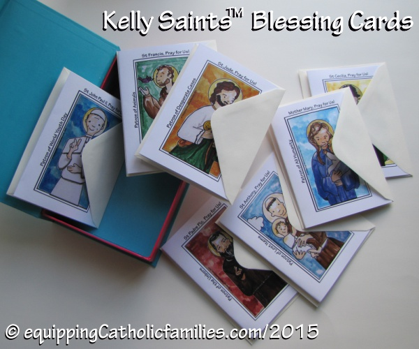 Kelly Saints Blessing Cards