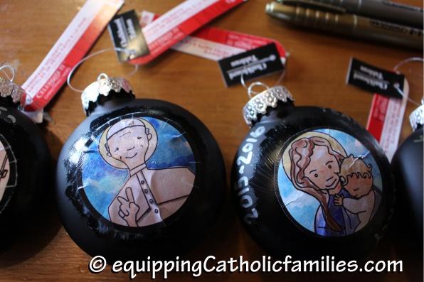 Kelly Saints Christmas Ornaments