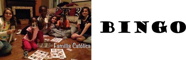 Super Saints Bingo Familia Catolica