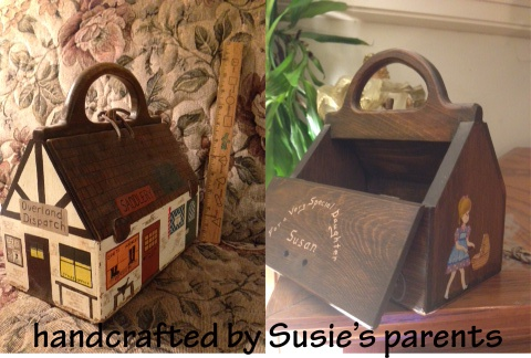 Susie's wood purses