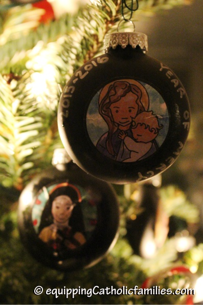 Year of Mercy Christmas Ornaments