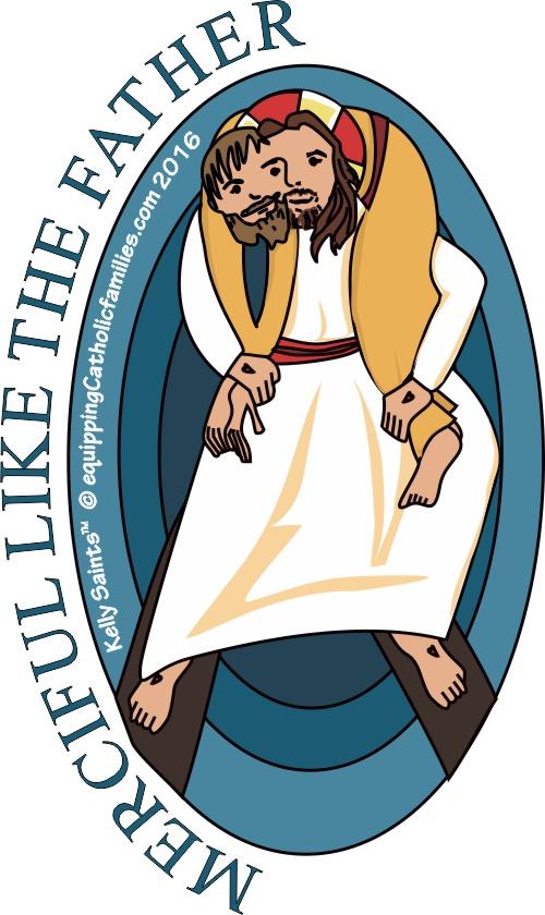 Works of Mercy Logo Kelly Saints