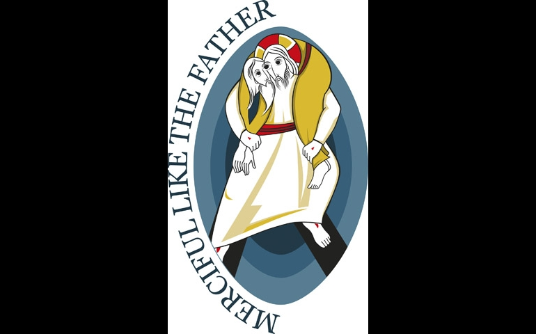The logo for the Holy Year of Mercy (borrowed from the Pontifical Council for Promoting New Evangelization)