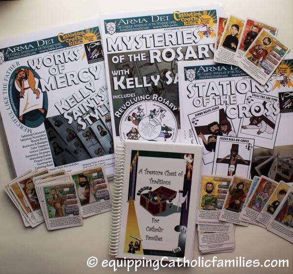 #CatholicCrafts Bundle for Lent Zelie Auction