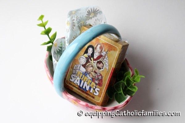 Super Saints in an Egg Basket