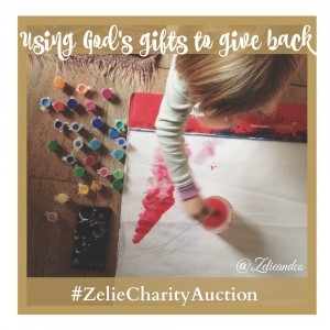 #Zeliecharityauction