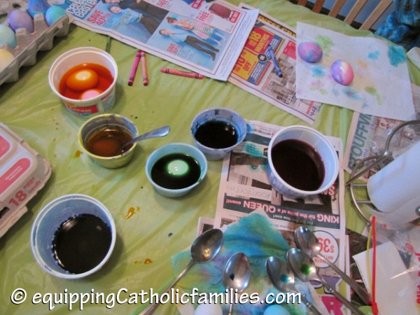 decorate eggs