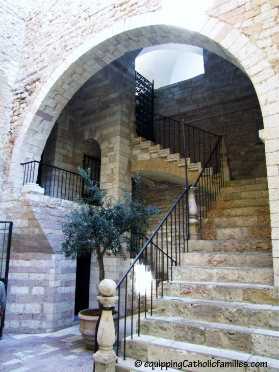 Assisi stair