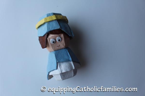 Egg Carton Mary