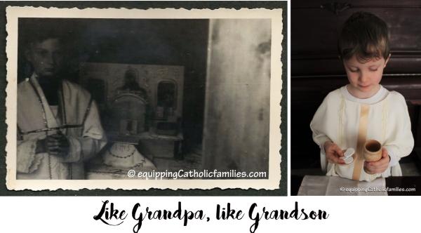 Like Grandpa like Grandson