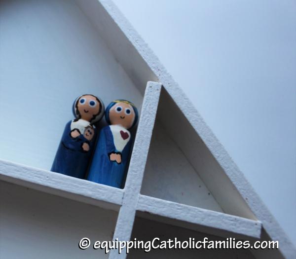 Mary peg dolls