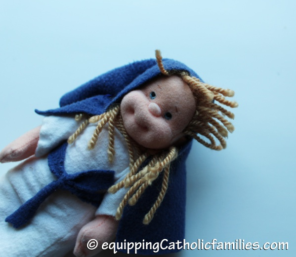 Mother Mary TY doll
