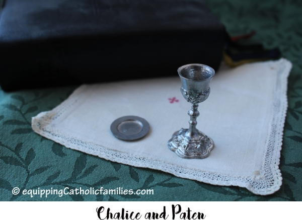 Vintage Miniature Chalice and Paten