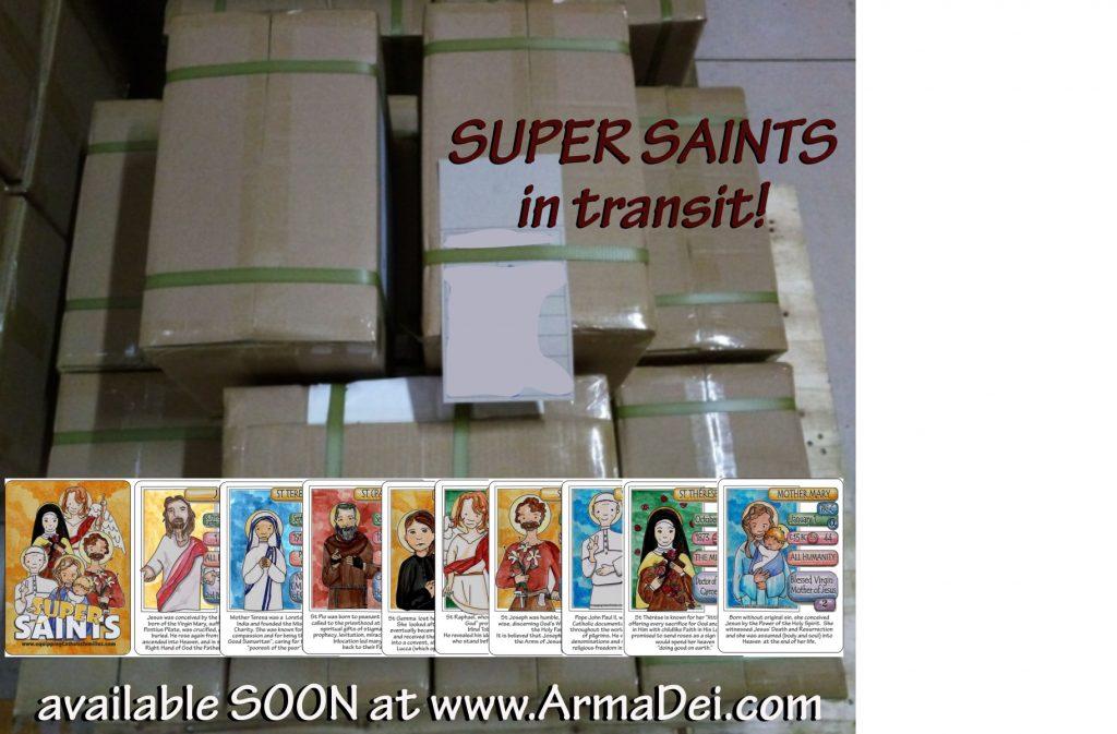 super saints in transit
