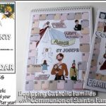 Communion of Saints Calendar Craft Kit