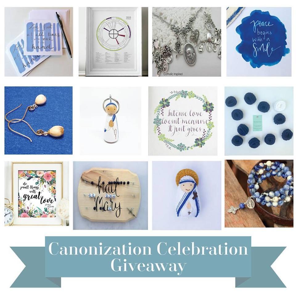 Canonization Giveaway @ Zelie
