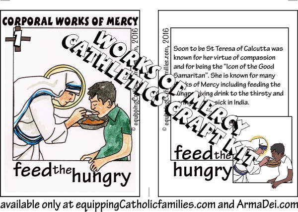 St Teresa of Calcutta works of mercy